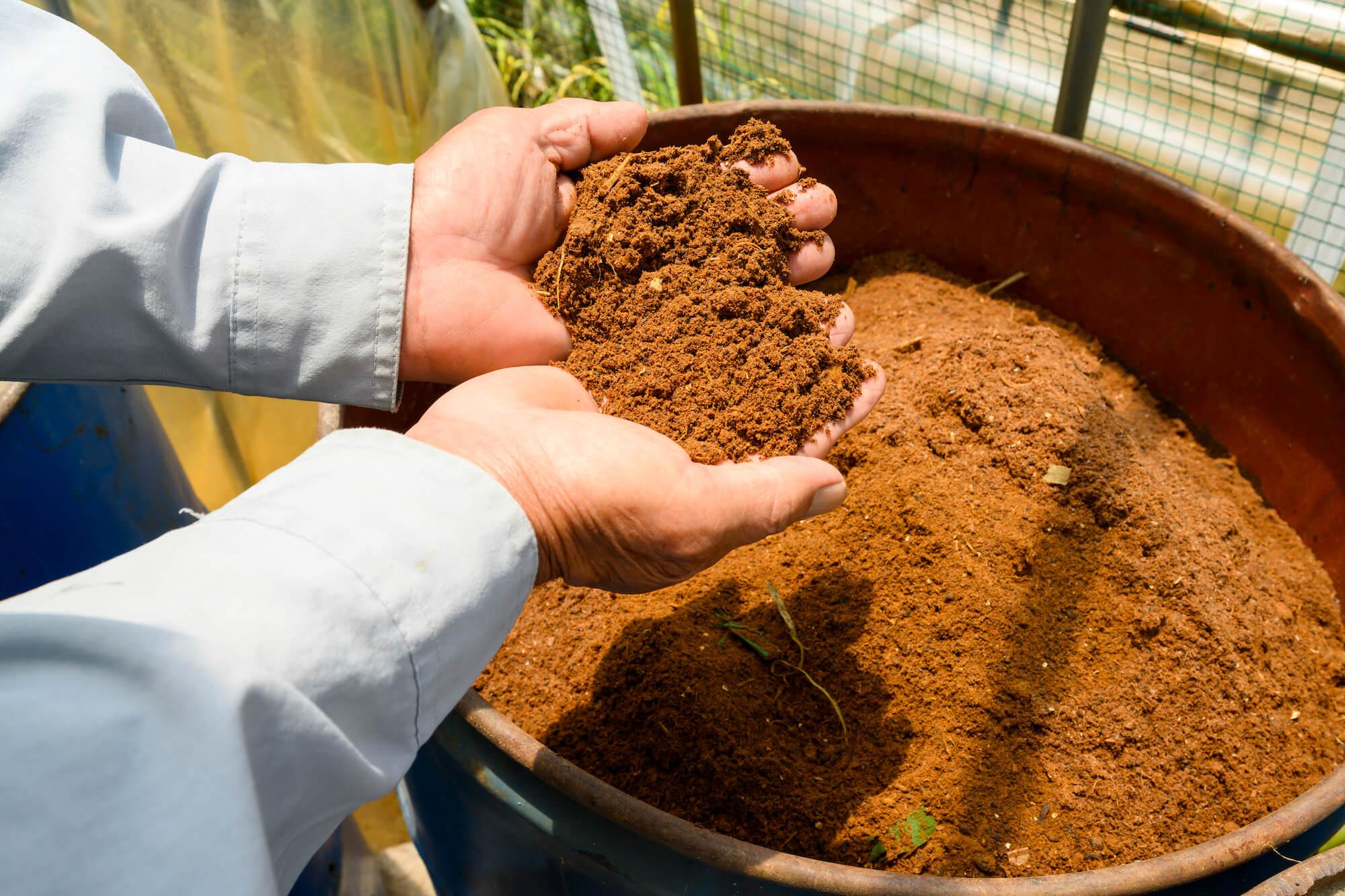食品ロスを使った堆肥で、 安心・安全な農業と循環型社会の実現を目指す