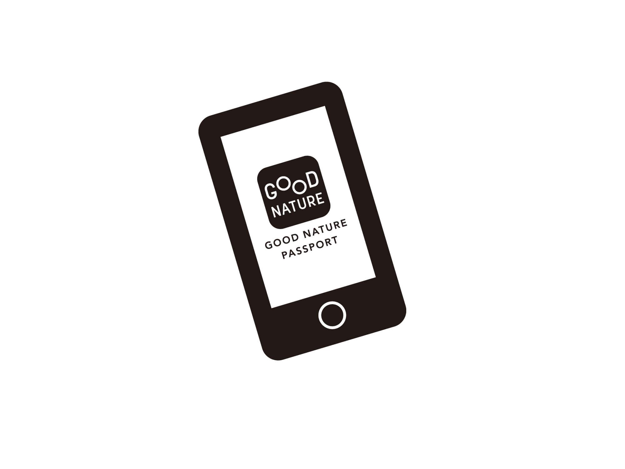 公式アプリ「GOOD NATURE PASSPORT」が更に便利に!