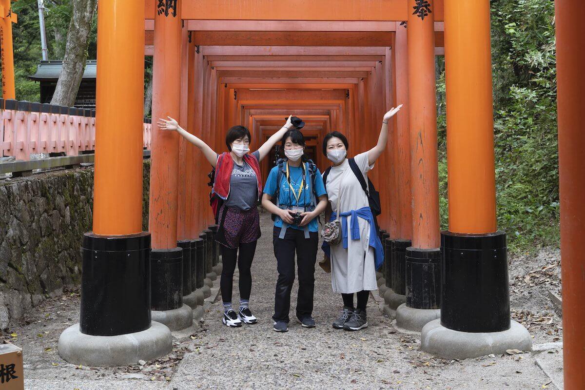 [NATURE TOUR]京都路线周边:①伏见桃山-伏见稻荷路线≪10月/11月≫