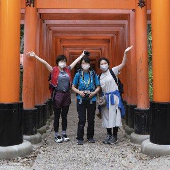 【NATURE TOUR】京都一周トレイル:①伏見桃山〜伏見稲荷コース≪6月≫